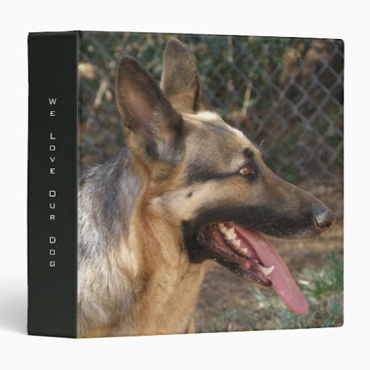 German Shepherd Dog Binder