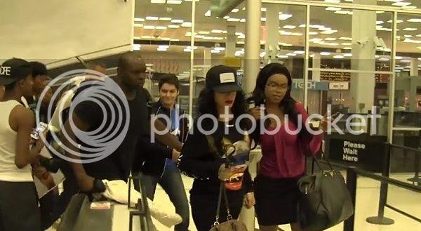 Watch: Rihanna snaps at fan...