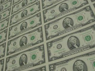 Uncut $2 Bills