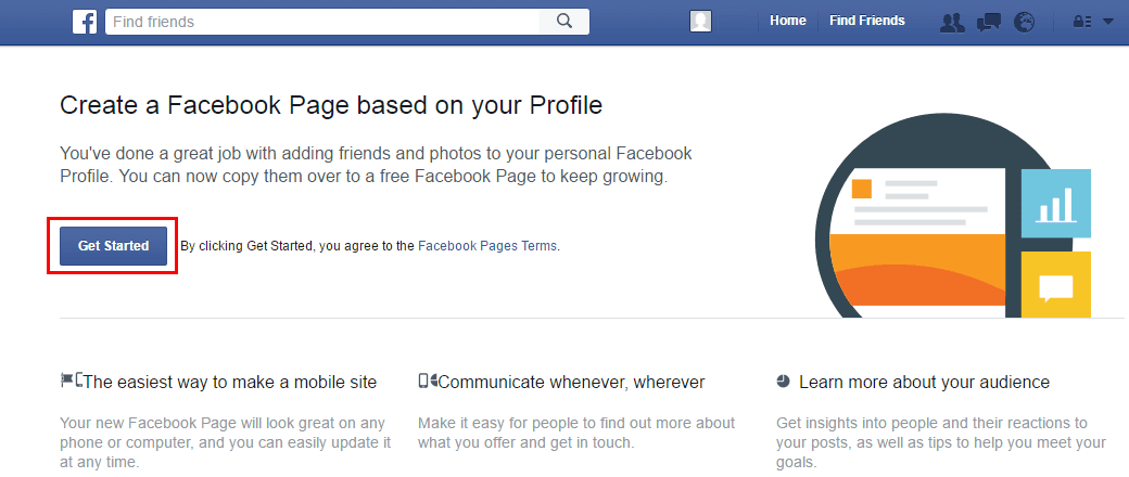 Facebook Essentials: Turn Facebook Profile into a Facebook Page