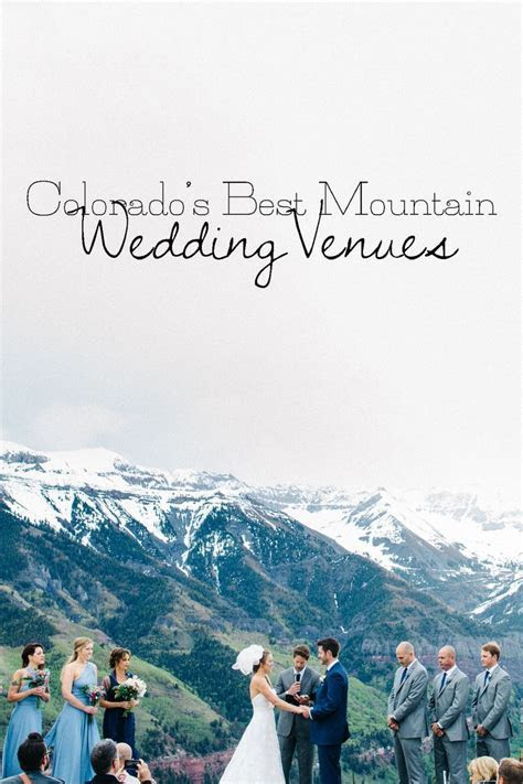 Best 25  Mountain Weddings ideas on Pinterest   Rustic