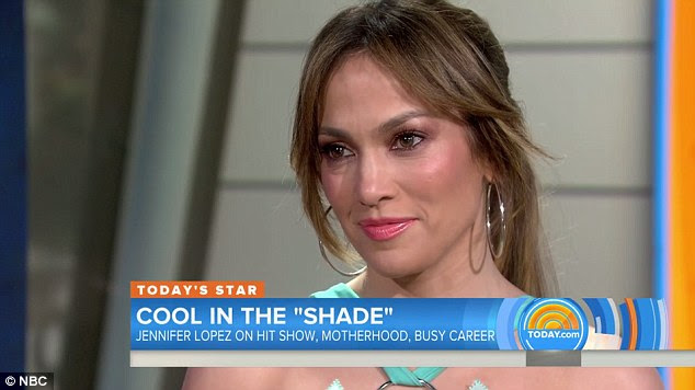 Tears in her eyes: Jennifer Lopez welled up when talking about her kids on the Today show on Thursday