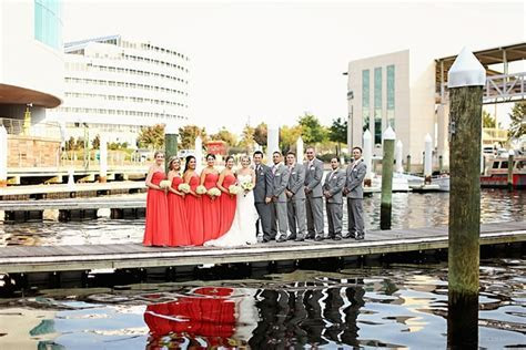 Fun Norfolk Waterside Wedding   Tidewater and Tulle