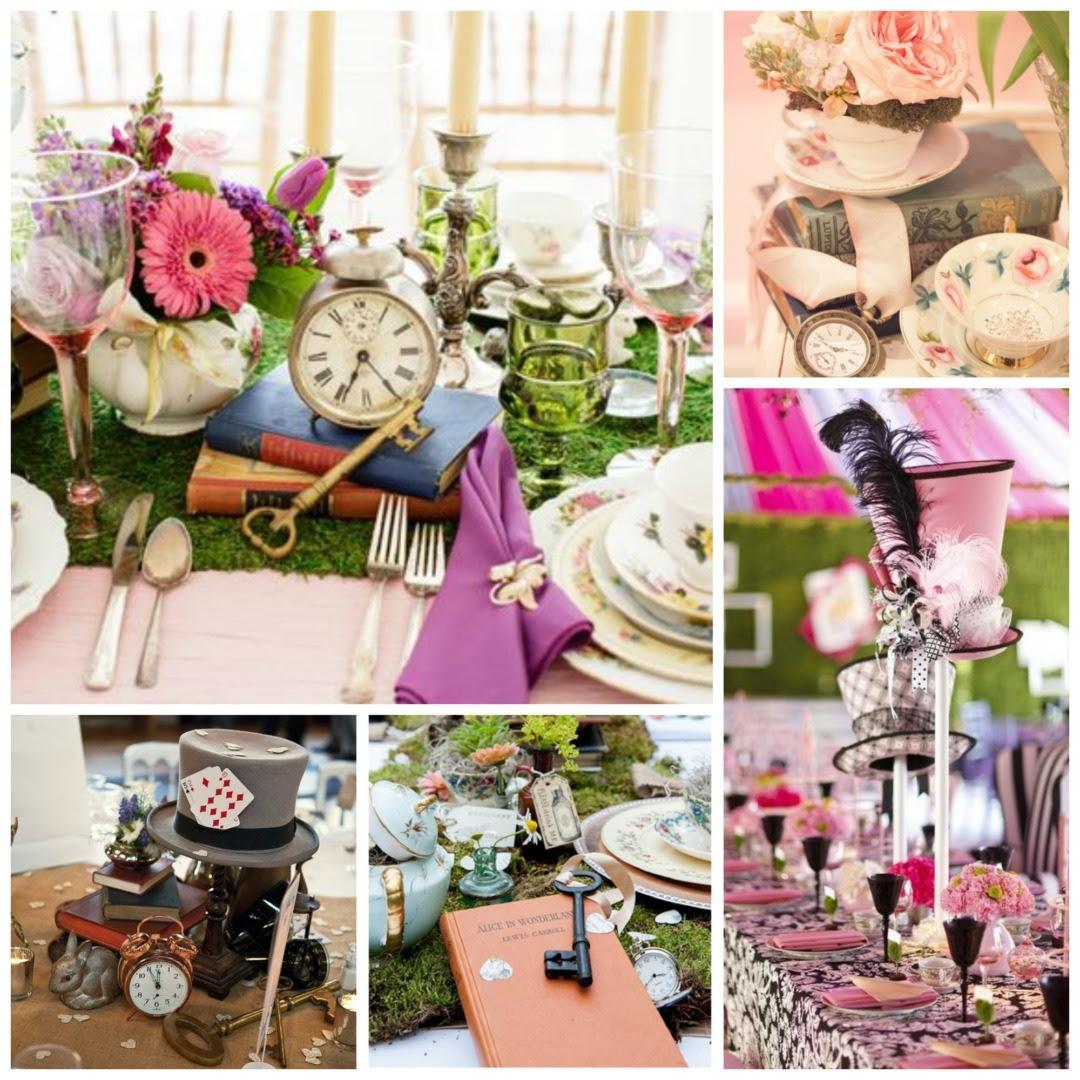 Alice In Wonderland Wedding Theme Perfect Details