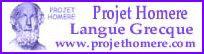 Projet Homere-Langue Grecque