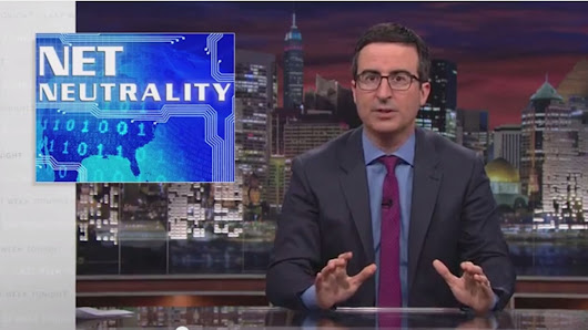 John Oliver delivers the clearest, most hilarious, explanation of net neutrality you'll see