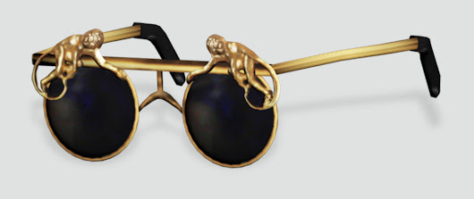 Mercura Golden Monkey Sunglasses