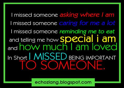 Quotes For Missing Someone Special Tagalog