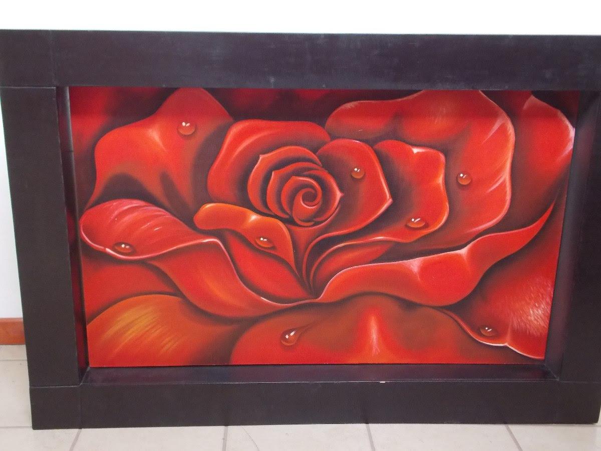 Cuadro De Rosas Flores Grandes Para Pintar Al Oleo Cool Cuadro De