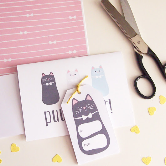 Puuurfect Cat Themed Printables
