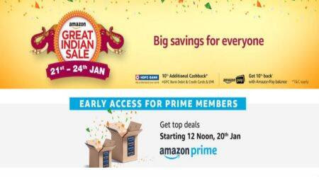 Amazon Great Indian Sale to start from January 21: Top deals on smartphones, el   ectronics, and more