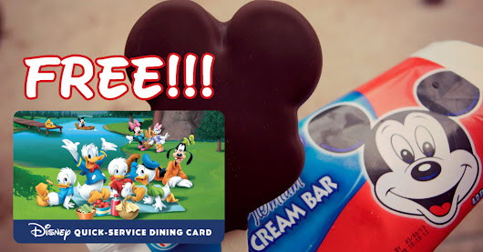 Free Disney Quick-Service Dining Gift Card - Mouseketrips
