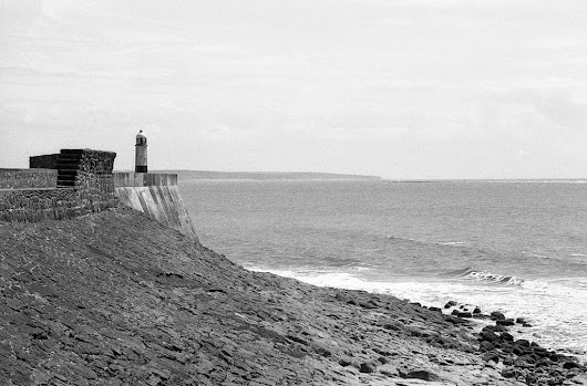Porthcawl in B&W .......