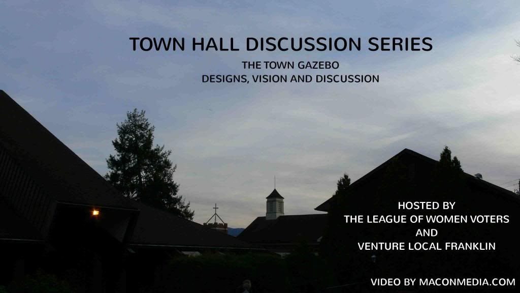 Town Hall Discussion Series  Hosted by  The League of Women Voters and Venture Local Franklin