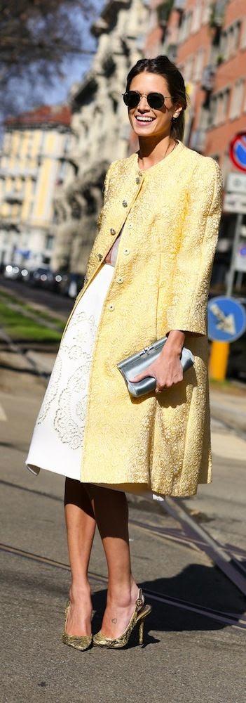 Street Chic   Milan Fashion Week.