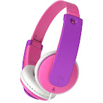 JVC - TINYPHONES HA-KD7 HAKD7P Wired On-Ear Headphones - Purple/Pink
