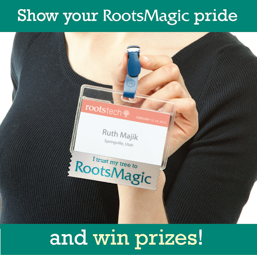 RootsMagic Blog    » RootsMagic at RootsTech: Discounts, Exhibit Hall, Instruction, and a Prize Patrol!