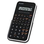 Sharp EL-501XBWH Scientific Calculator, 10-Digit LCD (SHREL501X2BWH)