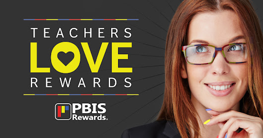 Teacher Reward System Add-on for PBIS Rewards | Teacher Rewards