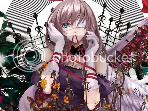One Eyed Anime Girl
