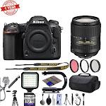 """""""Nikon D500 20.9MP 4K 2160p DSLR Camera w/ 3.2 LCD - Built-In Wi-Fi - 10 FPS - Nikon AF-S DX 18-300mm f/3.5-6.3G Ed VR Lens - 64GB SD Card"""""""