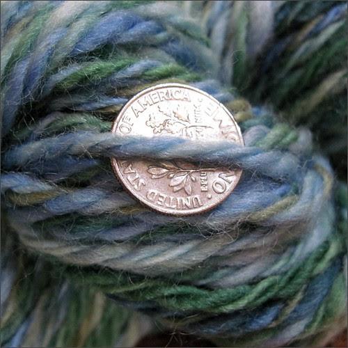 Lake Tahoe yarn, close up
