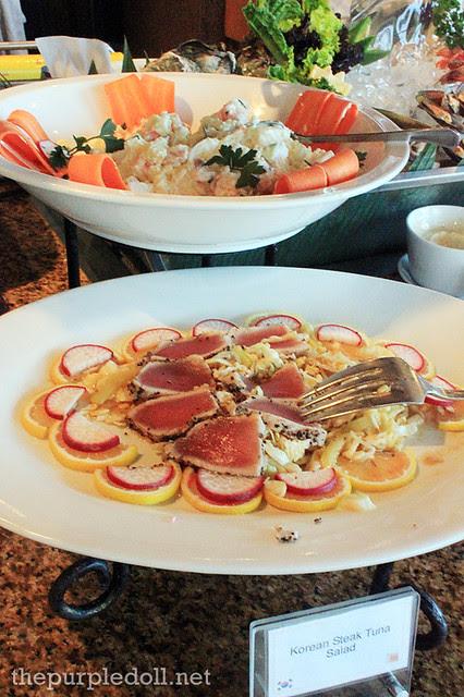 Korean Steak Tuna Salad