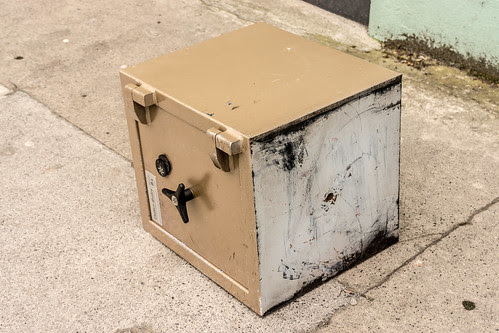 It Is Not Often That I Find A Sealed Safe On The Footpath by infomatique