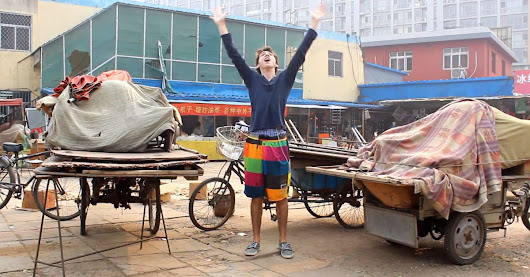 College Student Spends 100 Days Dancing His Way Across China [VIDEO]
