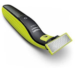 Philips Norelco OneBlade Wet/Dry Electric Trimmer, Lime Green/Charcoal Gray