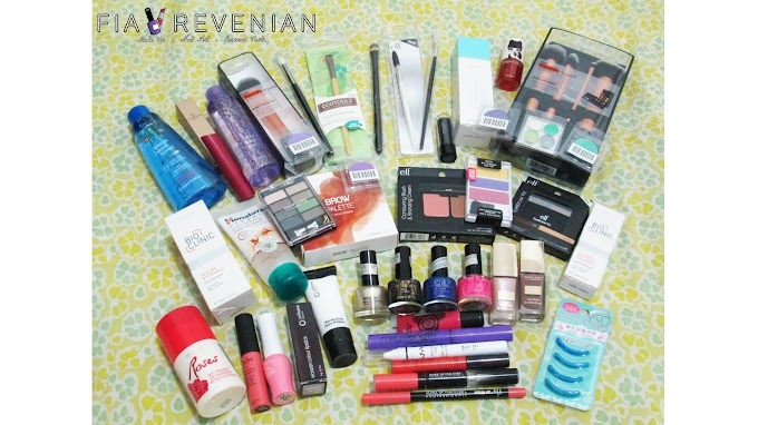 Beauty Haul: Big February 2014