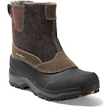 Eddie Bauer Men's Snowfoil Pull-On Boot - 9 - Timber