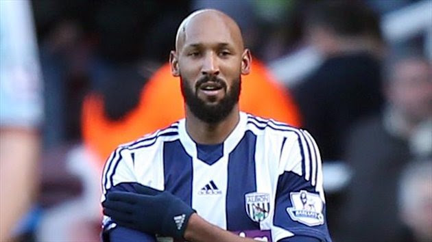 Nicholas Anelka has terminated his contract at West Brom (PA)