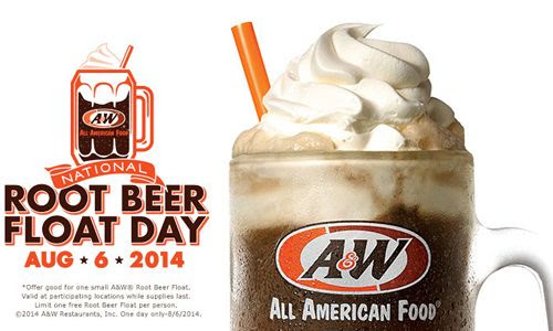 A&W Restaurants Celebrates National Root Beer Float Day On August 6th By Honoring America's Veterans | RestaurantNewsRelease.com