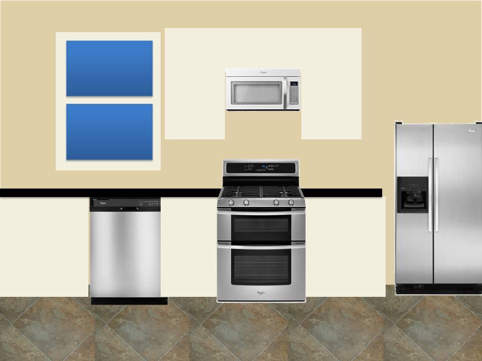 Kitchen Step 1: Paint Colors | { kelley + alex