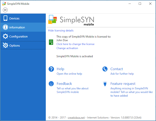 SimpleSYN - SimpleSYN mobile Neuigkeiten: Beta Test Anfang 2018