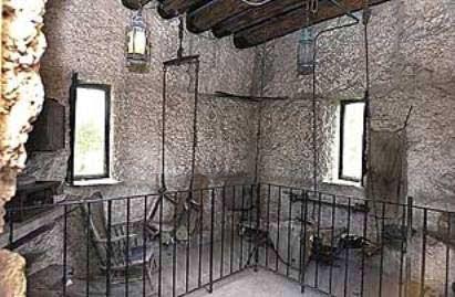 Interiorul turnului
