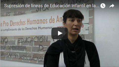 Vídeo supresión líneaseducación infantil