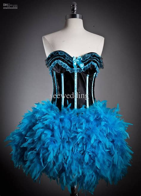 Custom Halloween Costume Dresses Burlesque Corset Prom