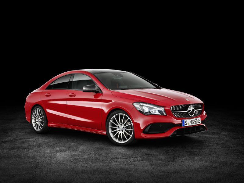 Mercedes-Benz CLA Coupe (C117 facelift 2016) CLA 250 (218 ...