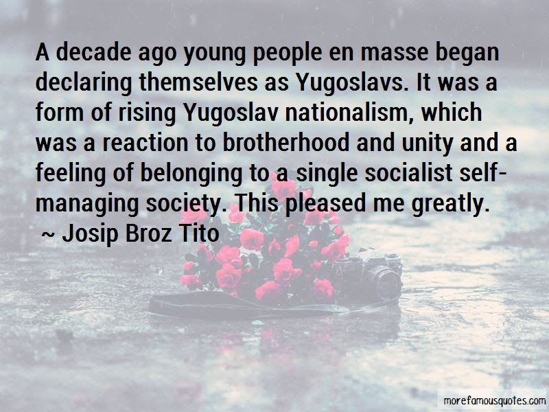 Quotes About Brotherhood And Unity Top 15 Brotherhood And Unity