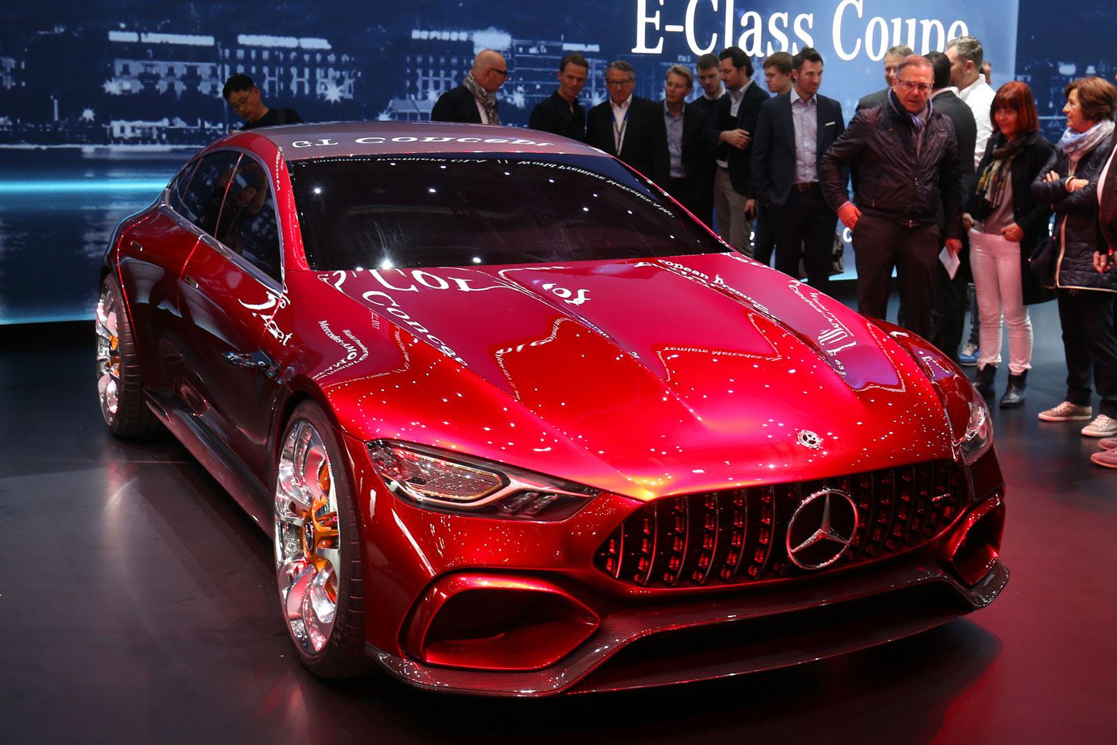 Mercedes-AMG GT Concept - Car Body Design