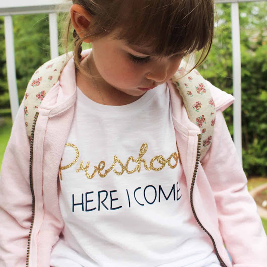 10 Minute T-shirt for the First Day of School - Love Create Celebrate