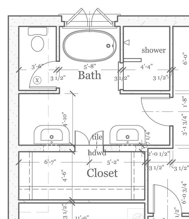 » Blog Archive » master bathroom