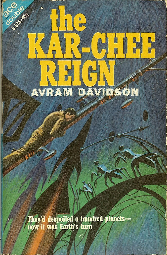 Jack Gaughan - Cover Illustration for Avram Davidson - The Kar-Chee Reign, 1966