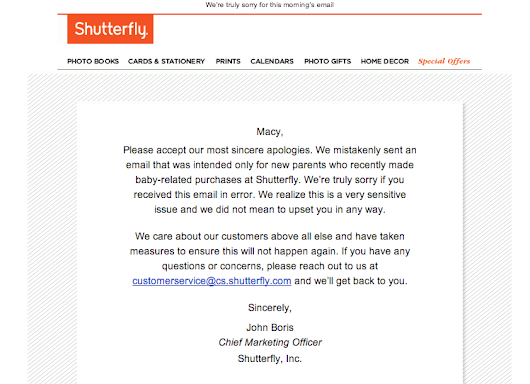Social Media Crisis Management Lessons from the Shutterfly Mistake