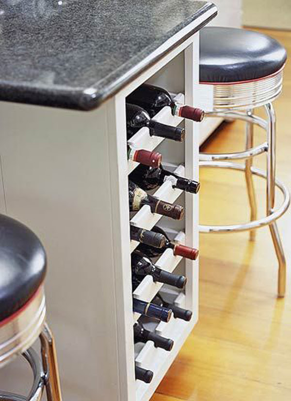 Built In Under Counter Wine Storage Ideas Home Design And Interior