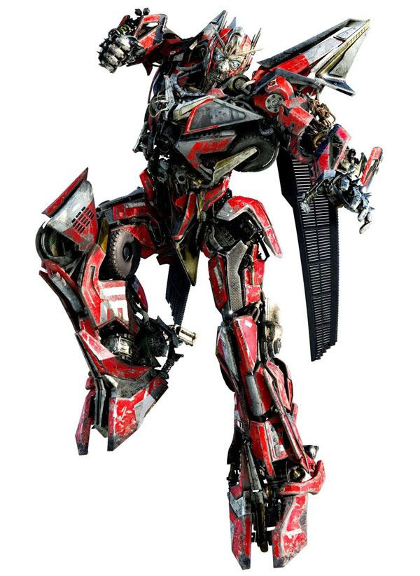 Concept artwork of Sentinel Prime for TRANSFORMERS: DARK OF THE MOON.