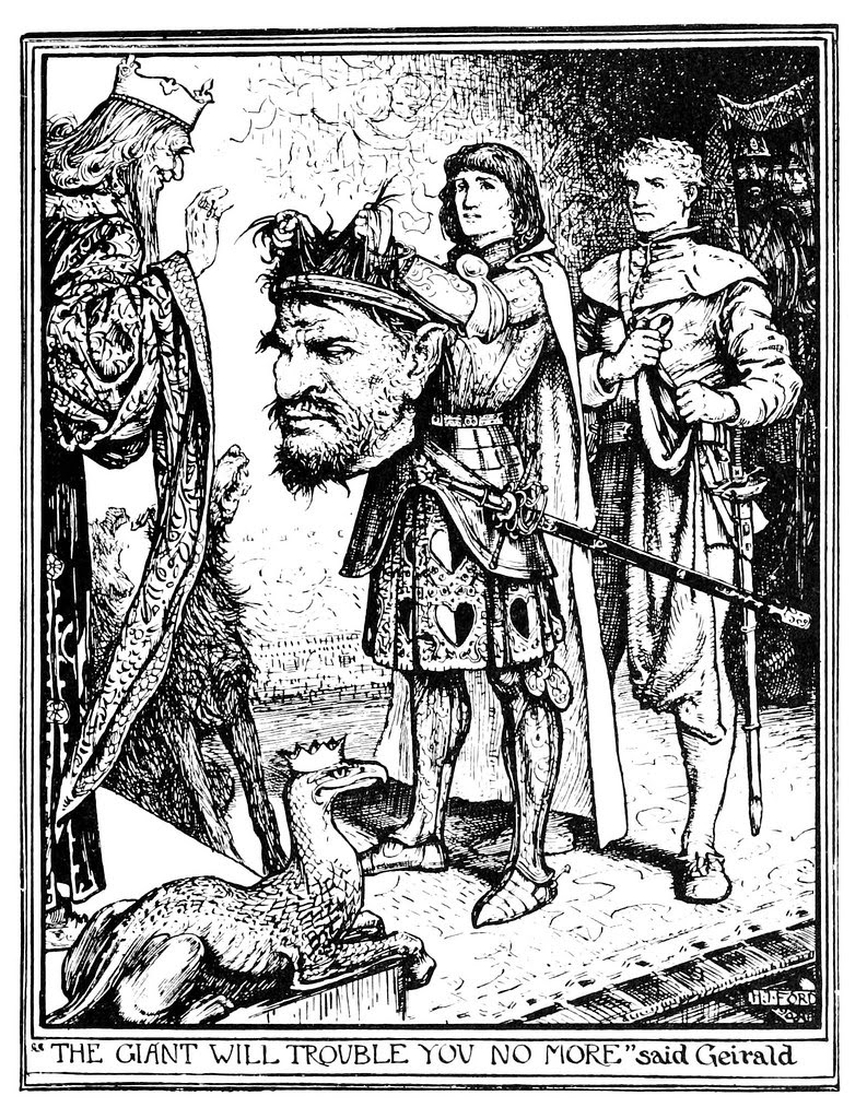 Henry Justice Ford - The brown fairy book, edited by Andrew Lang, 1965 (illustration 3)