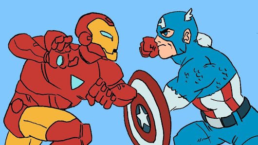 Marvel's Civil War Animated in 4 Minutes | Bite-Size Comics